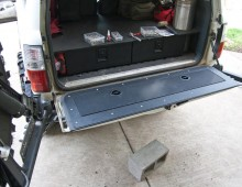 80 Series Tailgate Lid Installation
